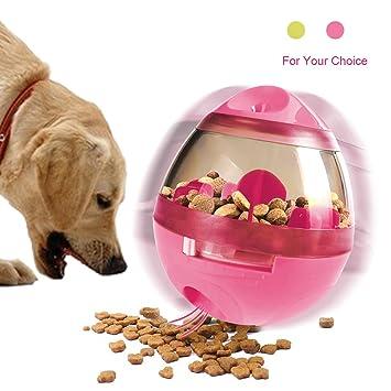 RCRuning-EU Juguetes interactivos para perros,Juguete dispensador de comida el mejor juguete dispensador