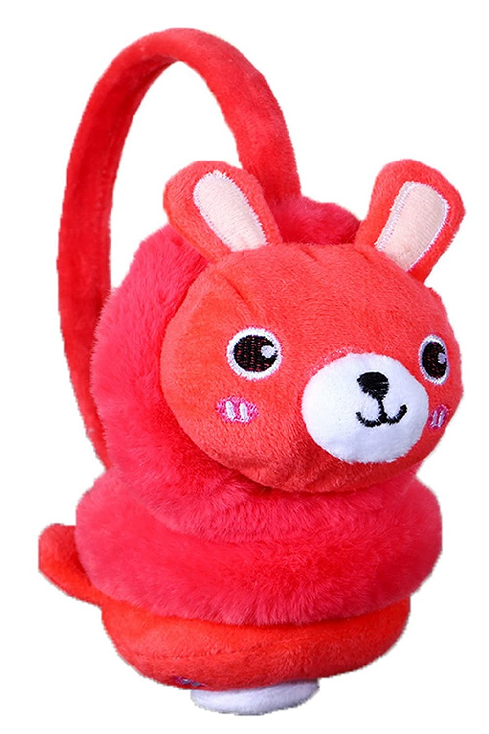 Jelord Cartoon Plush Earmuffs Winter Fleece Ear Warmers