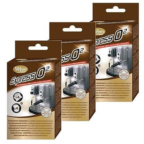 02 de Whirlpool Express antical para la máquina de café VonShef (paquete de 12 +