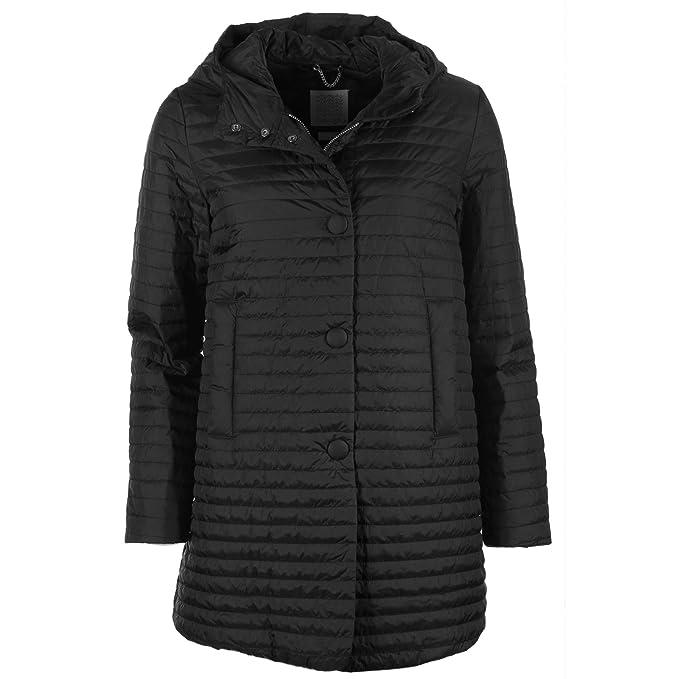 Chaqueta es Mujer Jacket Negro 40 Y Ropa Amazon Geox Accesorios Woman Eqa0wnaB