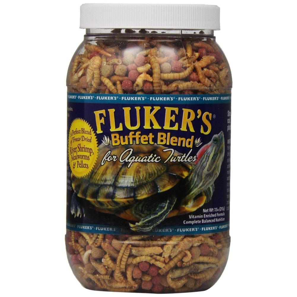 Fluker's Buffet Blend Aquatic Turtle Formula for Pets, 7.5-Ounce [2-Pack] Fluker' s 70130
