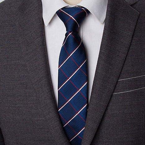 stile alla moda stile attraente vera qualità KYDCB Cravatte da Uomo a Righe Business 6 Cm Cravatta Uomo ...