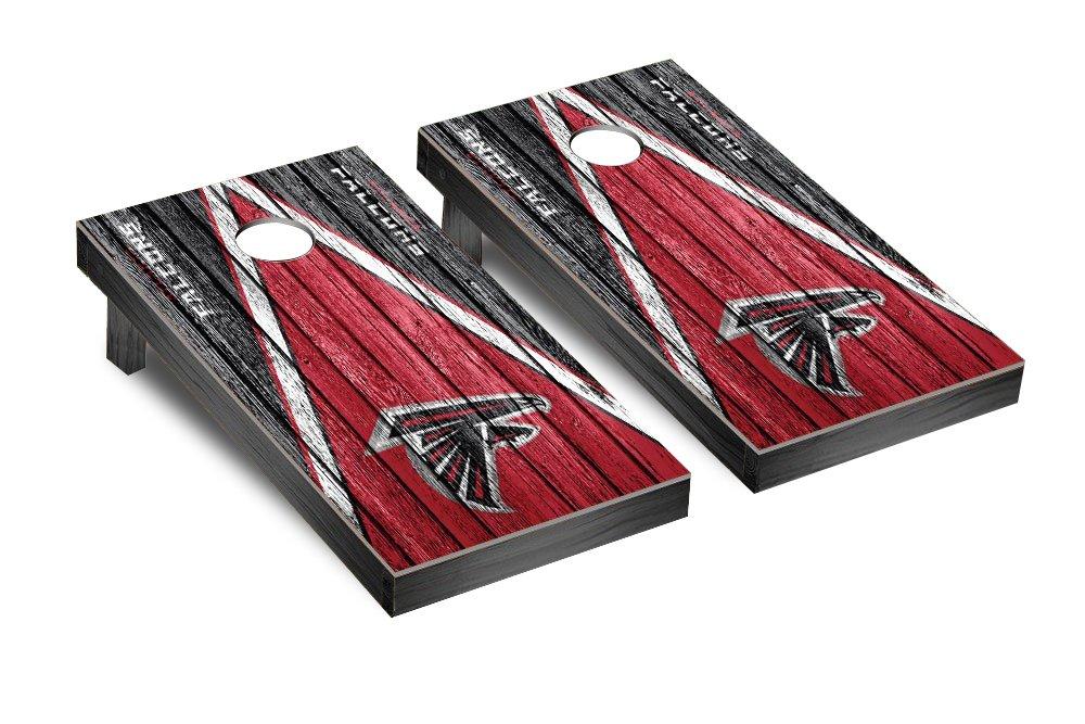 NFL Atlanta Falcons Triangle Weathered Version Football Corn hole Game Set, One Size