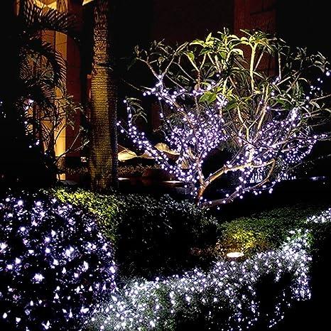 Butterme luce della stringa led solare luci di Natale, luce della ...