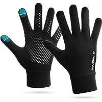 Snoky - Guantes para correr con pantalla táctil, térmicos, ligeros, elásticos, antideslizantes, para invierno, para…