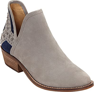 Lucky Brand Women's Kambry Bootie,Driftwood Embroidered Leather,US ...