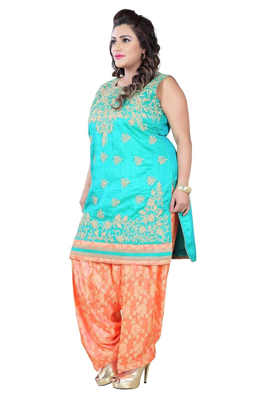 7224289d06e BEDI S Plus Size Indian Readymade Suits For Women Ladies Patiala Salwar  Suit Indian Pakistani Party Wear Suit Kameez Woman Big Size Clothing  Bollywood Suit ...