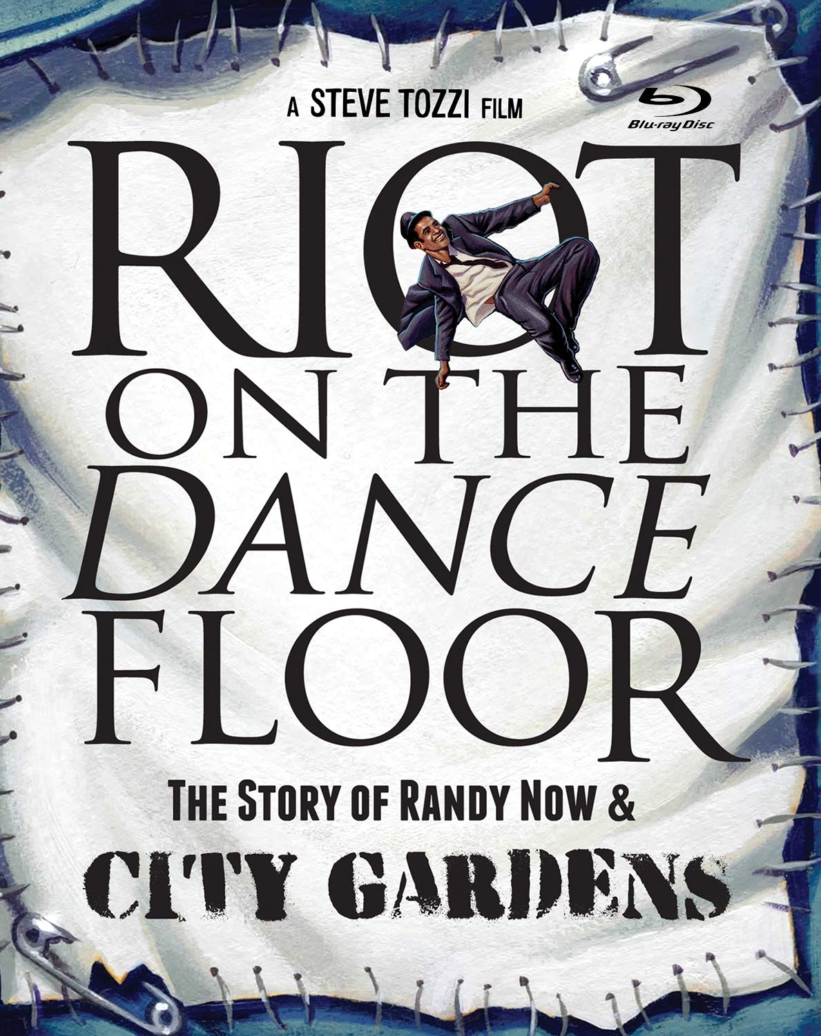 Riot on the Dance Floor: The Story of Randy Now & City Gardens Blu-ray