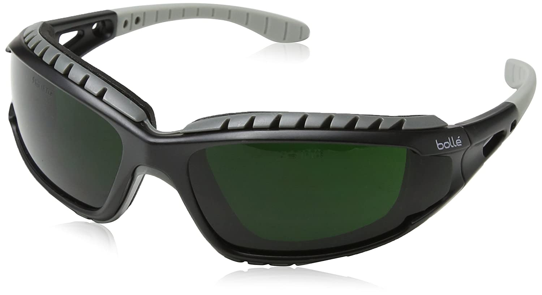 Gafas de seguridad para soldadura Bollé TRACWPCC5 «Tracker», tono 5, talla única - color negro: Amazon.es: Industria, empresas y ciencia