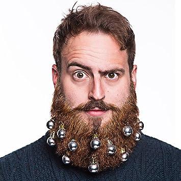 bristlr, decoración para barba y bigote con bolas de Navidad, pack ...