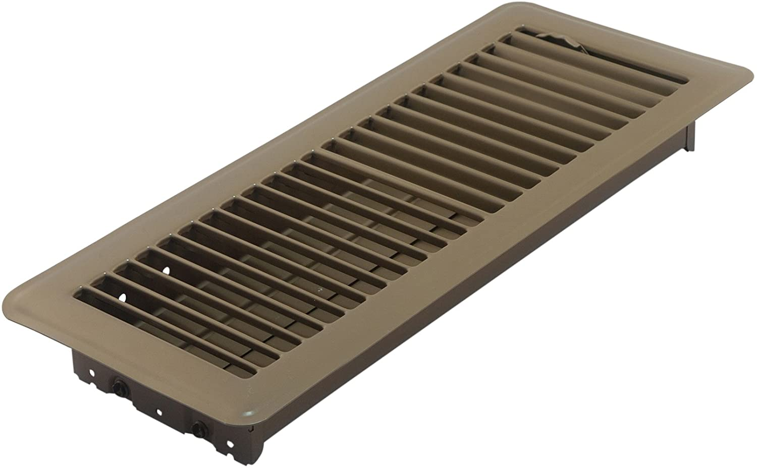 Amazon.com: Accord ABFRBR412 Floor Register With Louvered Design, 4-Inch X 12-Inch(Duct Opening Measurements), Brown: Home Improvement