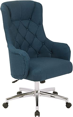 AVE SIX Ariel Tufted High Back Desk Chair