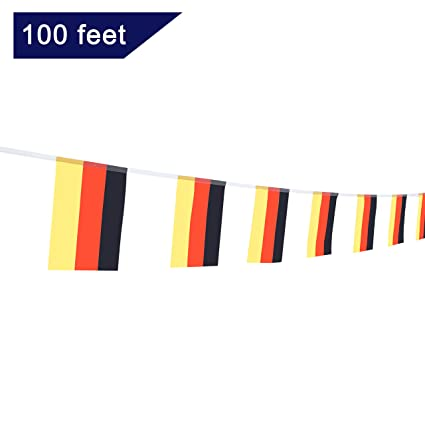 amazon com tsmd german flag 100 feet germany flag national