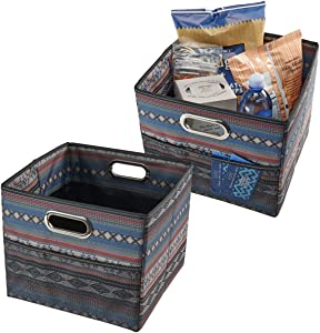 High Road CargoCube Trunk and Car Organizer Bins with Leakproof Lining - set of 2 (Southwest)