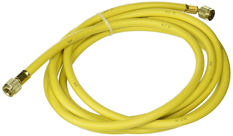 Yellow Jacket 21112 Plus II Hose Standard 1//4 Flare Fittings Yellow 12