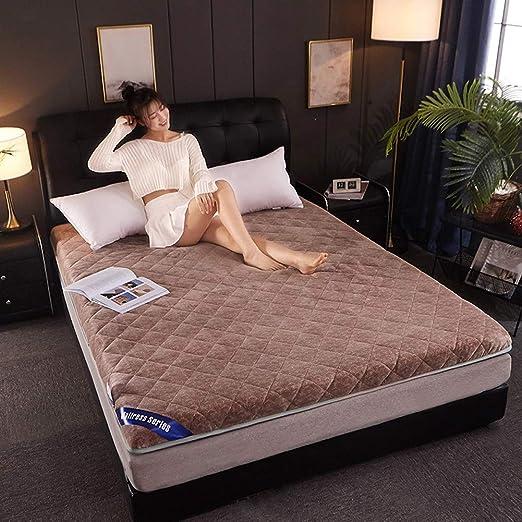 HXCLYQ Tatami Colchón Antideslizante Plegable Dormitorio ...