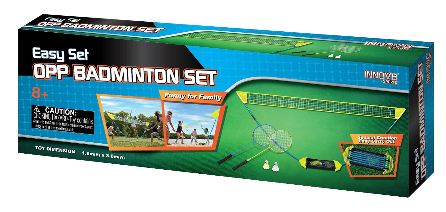 Opp Badminton Play Set by Innov8 Sports