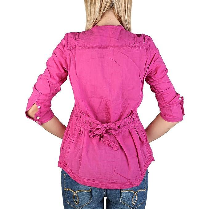 Alcott - Camisas - Blusa - para mujer rosa fucsia Small: Amazon.es: Ropa y accesorios