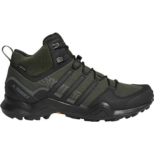 e8a097422 adidas Sport Performance Men's Terrex Swift R2 Mid GTX Sneakers, Black,  11.5 M: Amazon.co.uk: Shoes & Bags