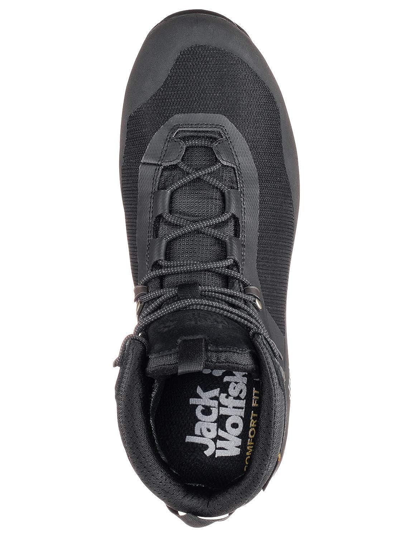 Chaussures de Randonn/ée Hautes Homme Jack Wolfskin Wilderness Lite Texapore Mid M
