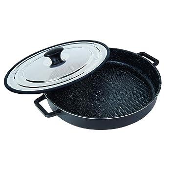 MasterPan Non-Stick Stovetop Oven Grill Pan