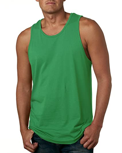 5fd852b80b427c Next Level Men s Jersey Solid Tank Top 3633 at Amazon Men s Clothing store