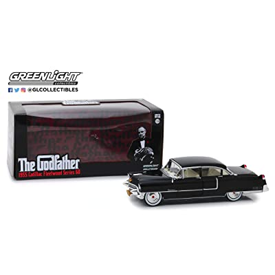 Greenlight 84091 1: 24 The Godfather (1972) - 1955 Cadillac Fleetwood Series 60 - New Tooling: Toys & Games