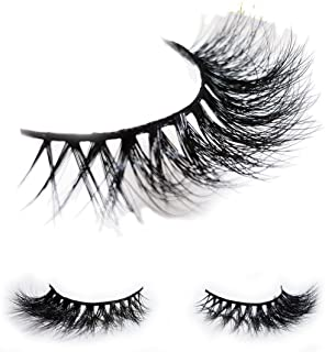 d554f891395 LUXILASH KYLIE Amazing Double Layered 3D Mink Fake Eyelashes - Reusable  Luxury Strip Natural…