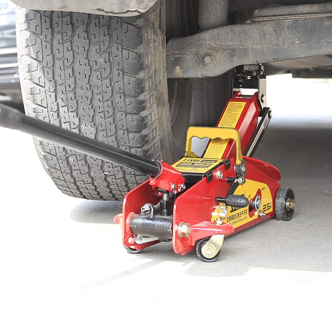 KingSaid Cric hydraulique de Plancher pour Le Garage de Voitures et de Camions,Capacit/é 2 Tonnes