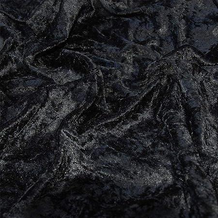 450 GSM Premium Quality Upholstery Curtain Glitz Crushed Velvet Fabric Material