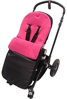 Chicco saco/Cosy Toes Compatible con Urban Londres Echo Multivía Lite Way, color rosa