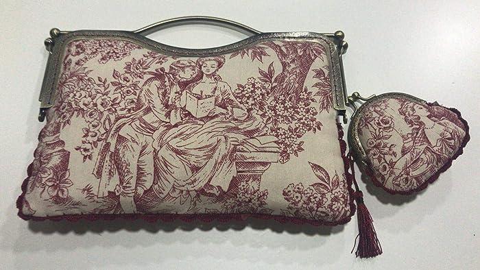 Bolso y monedero hecho a mano tela pareja: Amazon.es: Handmade