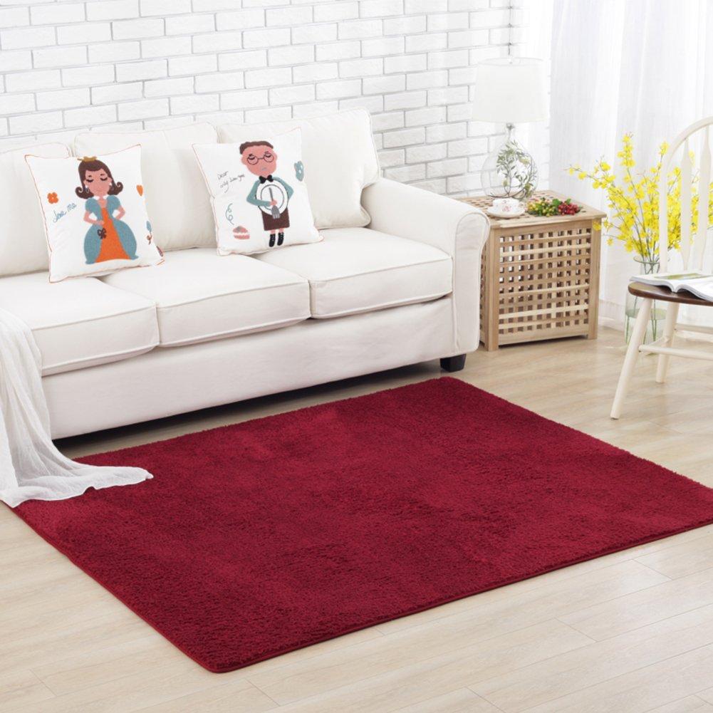 Fashion simple carpet The crawling child blanket Simple bed blanket Bedroom living room carpet-E 180x200cm(71x79inch)