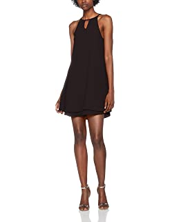 Only Nos Onlmariana Myrina S/l Dress Noos Wvn, Vestido para Mujer, Rosa (Virtual Pink), 36 (Talla del fabricante: 34)