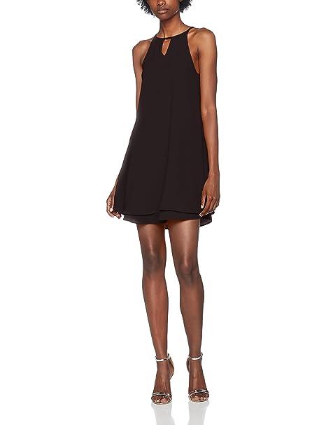 ONLY NOS Onlmariana Myrina S/l Dress Noos Wvn, Vestido para Mujer, Negro