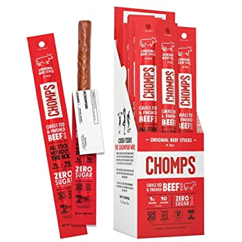 CHOMPS Grass-Fed Beef Jerky