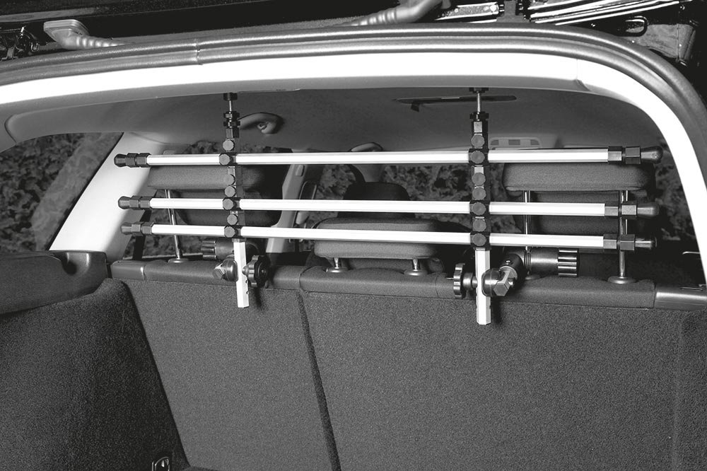 Trixie Auto-Schutzgitter, silber/schwarz Image