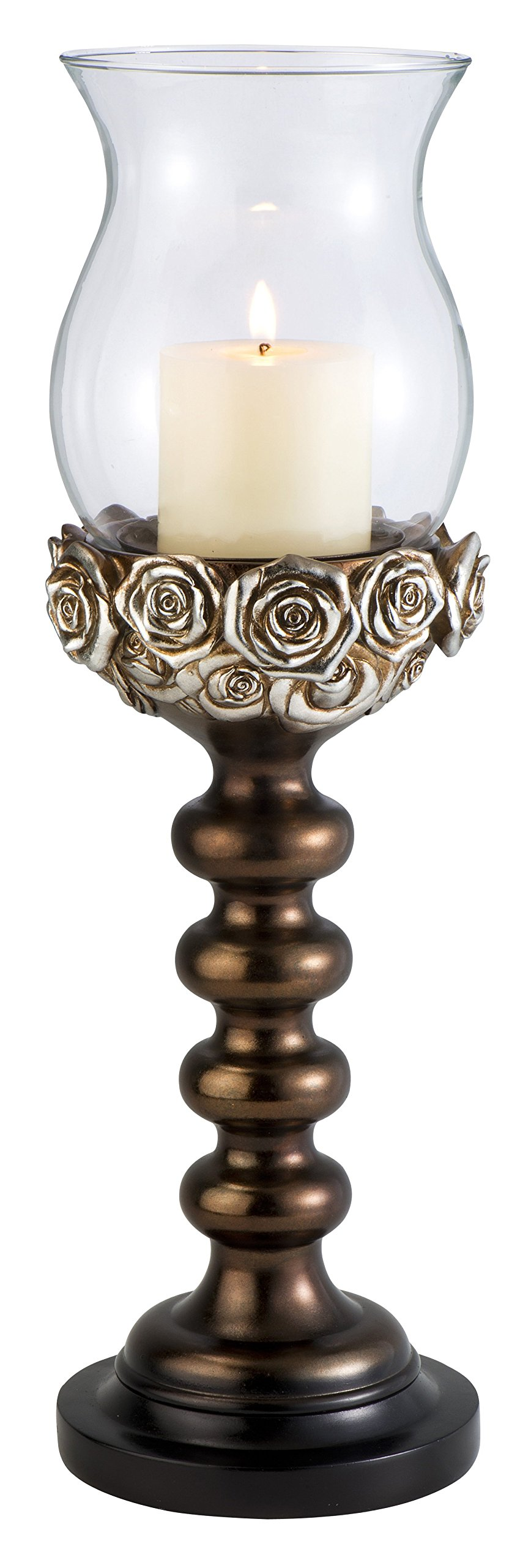 StealStreet SS-OL-OK-4275-C2 19.5 inch Allure Candle Holder