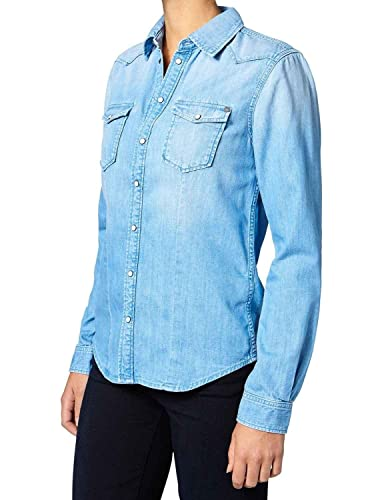 Pepe Jeans Camisa Rosie XS Azul