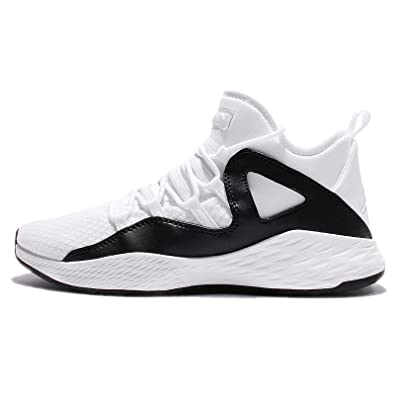 Nike Air Jordan Formula 23 Mens Basketball Trainers 881465 Sneakers Shoes (US 8.5 white white black 100)