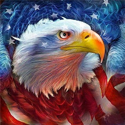 LIPHISFUN Animals Eagle DIY 5D Diamond Mosaic Full Diamond Painting