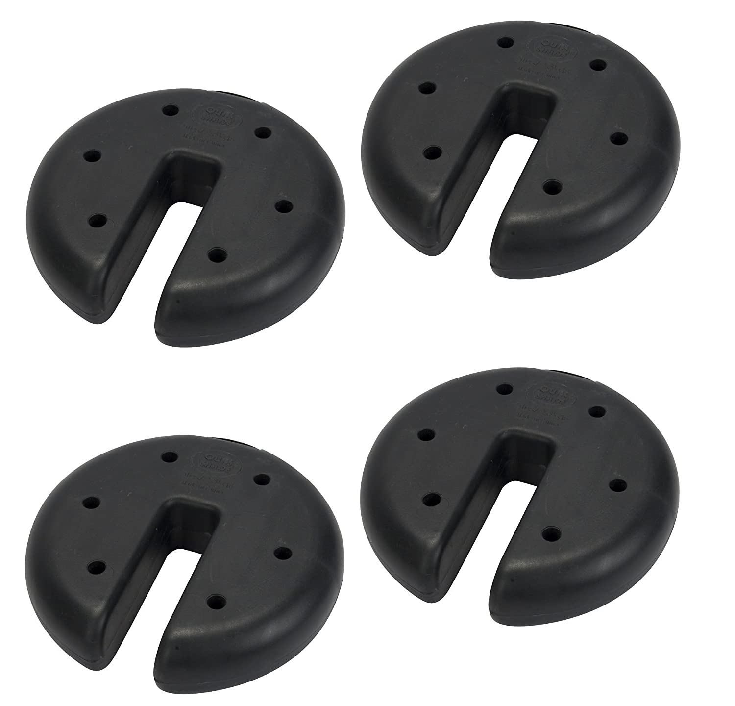 Amazon.com  Quik Shade Canopy Weight Plate Set (2 Set of 4)  Garden u0026 Outdoor  sc 1 st  Amazon.com : weights for canopy - memphite.com