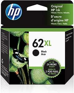 HP 62XL | Ink Cartridge | Black | C2P05AN