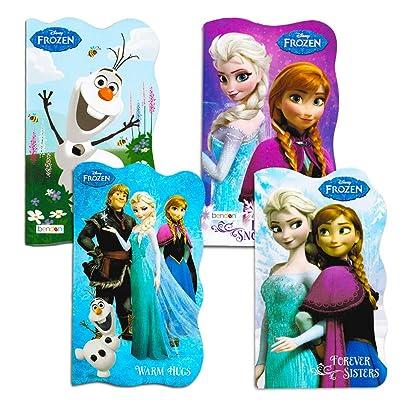 Disney Frozen Board Books (Set of 4 Shaped Board Books) : Baby