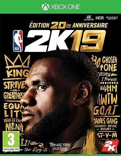 NBA 2K19 Édition 20ème anniversaire [Importación francesa]: Amazon.es: Videojuegos