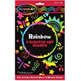 Melissa & Doug Rainbow Scratch Art Boards