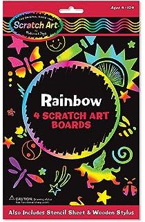 Melissa Doug Scratch Art Activity Kit Rainbow