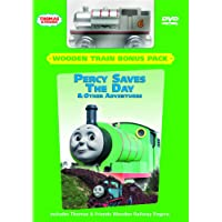 Thomas & Friends: Percy Saves the Day & Other Adventures + Wooden Railway Engine
