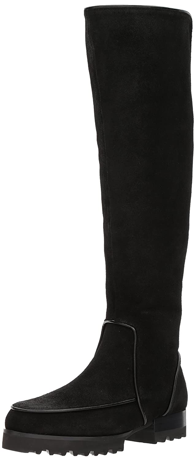 Donald J Pliner Women's Eva Fashion Boot B06Y2CKQKN 10 B(M) US|Black Brushed Suede