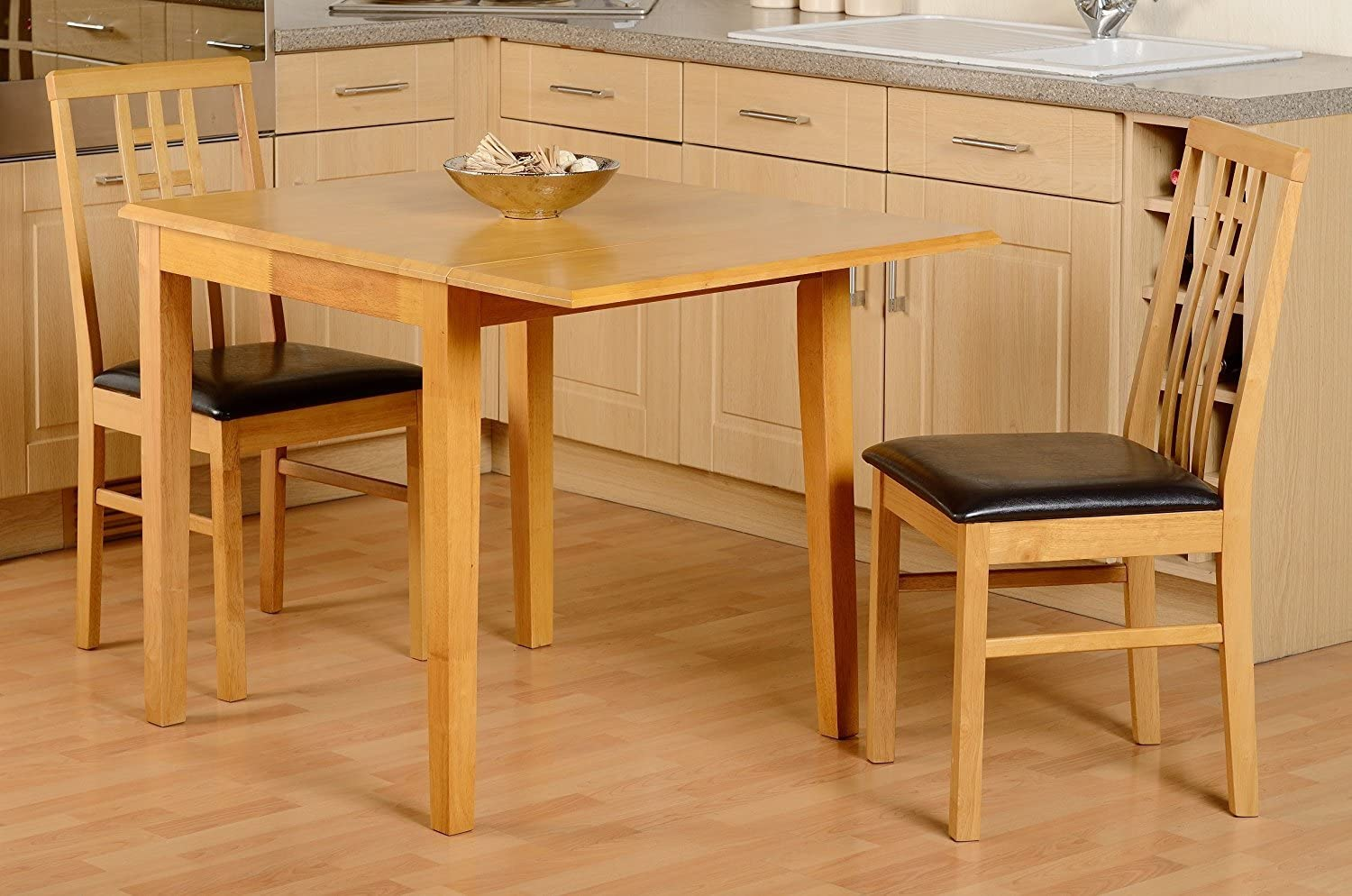 Seconique Vienna 2 Seater Dropleaf Dining Set